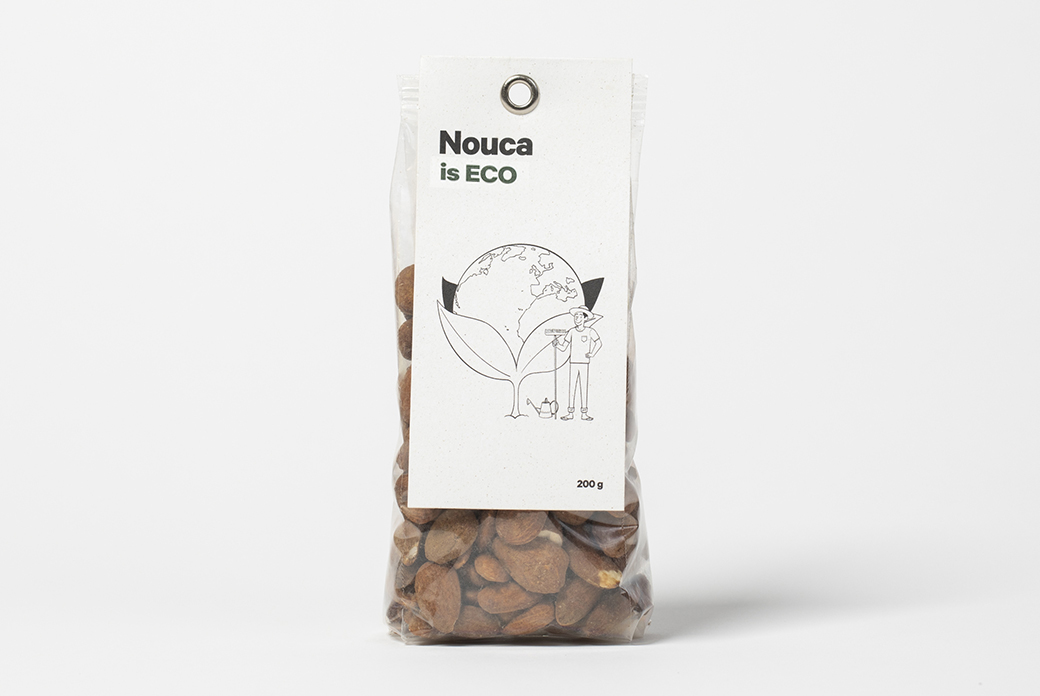 ECO Almond with toasted skin